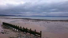 Pwllheli beach