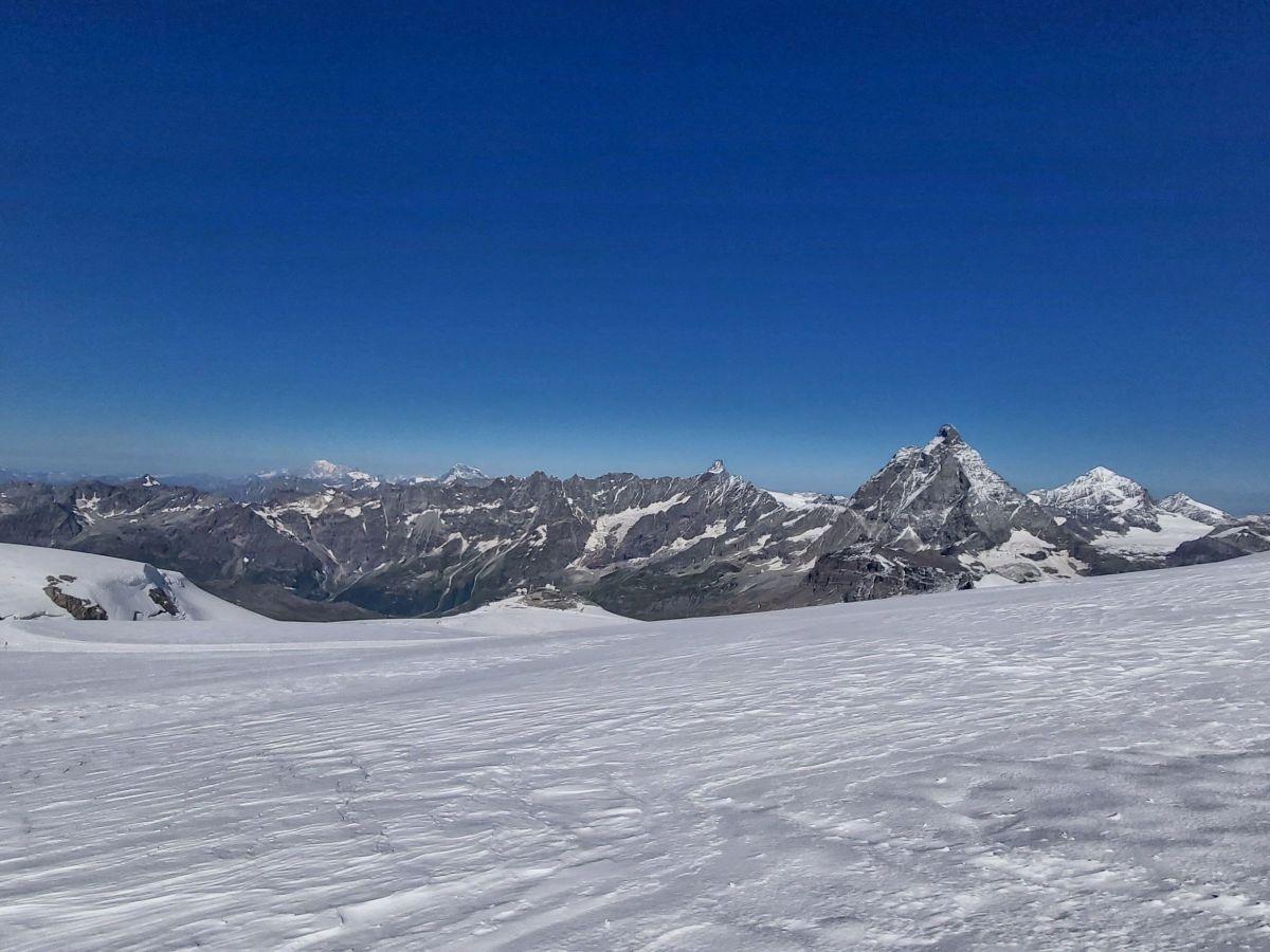 Matterhorn seen from Klein Matterhorn