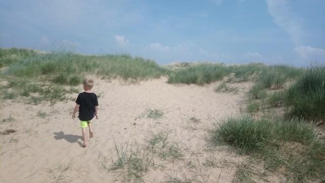 Ainsdale beach sand dunes