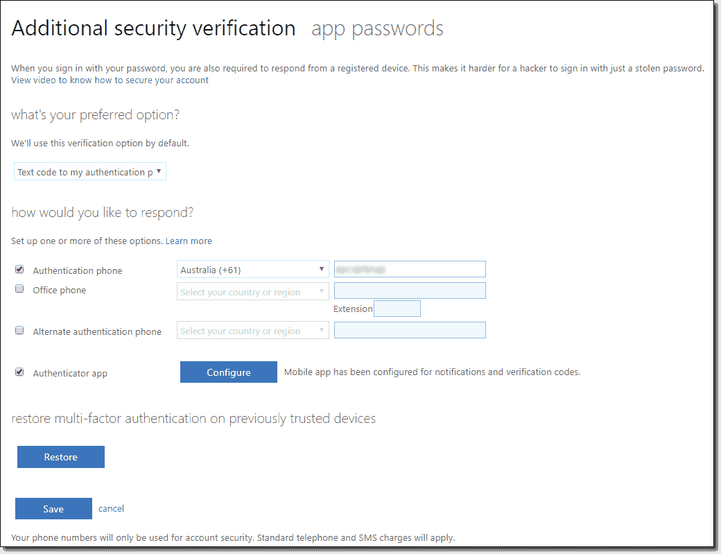 Office 365 Secure Score Mfa For Users And Auditing 4sysops