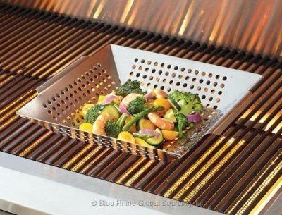gas grill wok