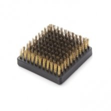 Grill brush replacement head brass