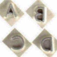 Letters for Interchangeable Branding Iron