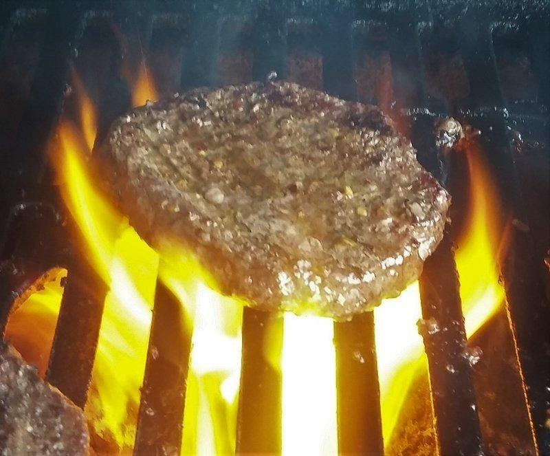 how to grill frozen hamburger