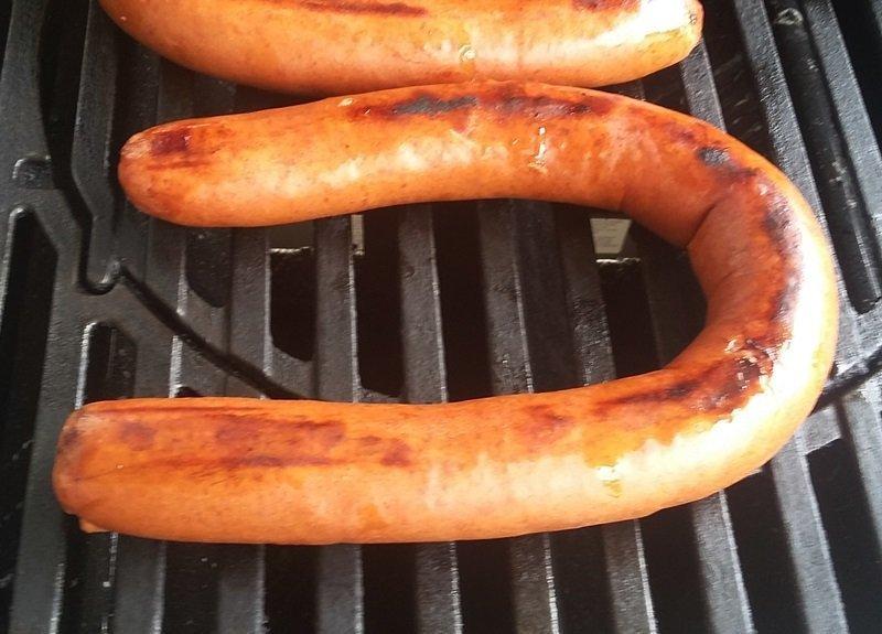 Grill Hillshire Farm Smoked Sausage