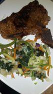 Steak with stirfry veggies