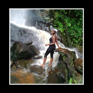 At Erin Ijesha waterfalls in 2015
