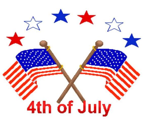 Happy 4th of July Clipart Free