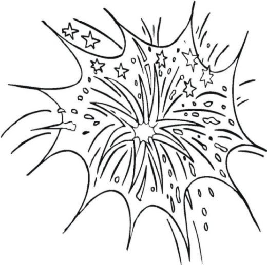 coloring pages 4th of July 2018
