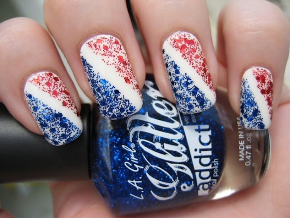 nail designs for 4th July