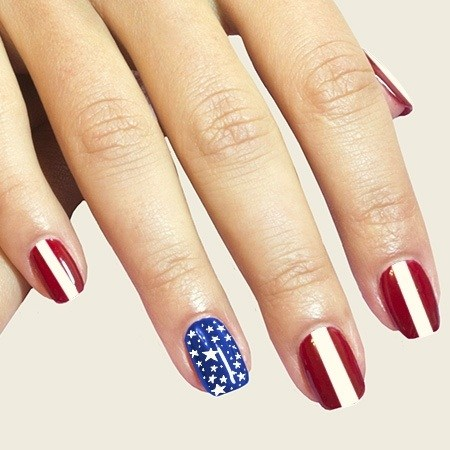 patriotic nails designs for 4th of July