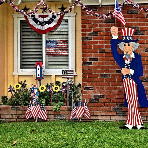 4th of July Decorations for outdoor