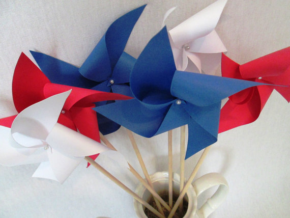 homemade 4th of July decorations