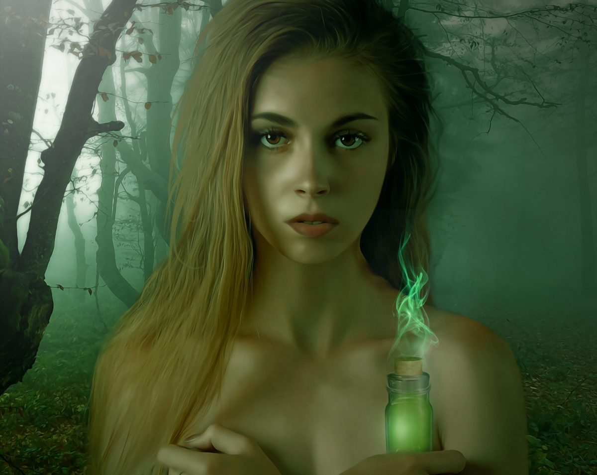 A NIGHT WITH A GREEN FAIRY BY ALEX GIBBONS