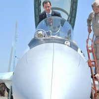 Assad visits Khmeimim Air Base