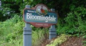 Bloomingdale Sign