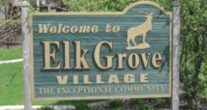 Elk Grove Village Sign