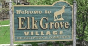 Elk Grove Village Sign