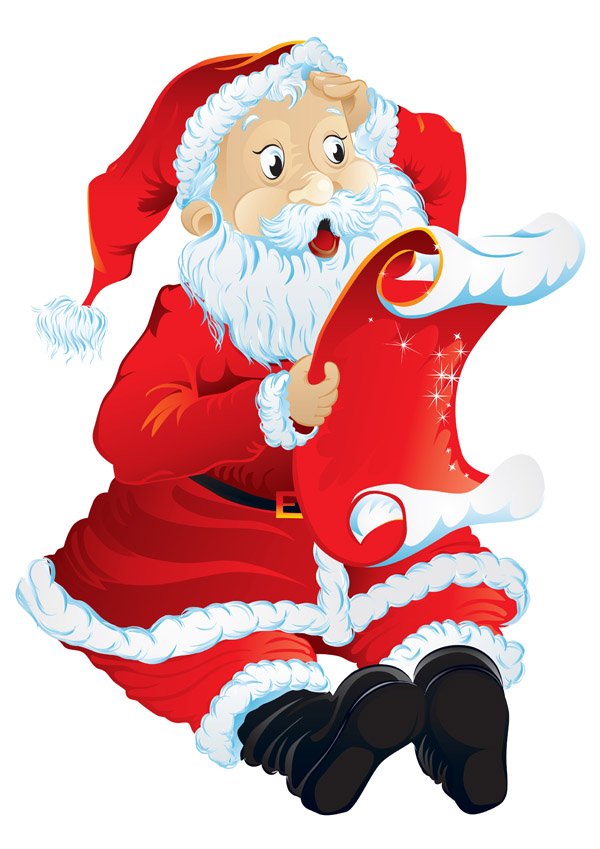 5 Santa Claus Vector Free Vector 4Vector