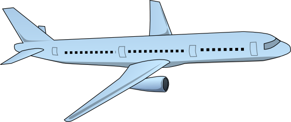 Aircraft Airplane Clip Art 109550 Free Svg Download 4 Vector