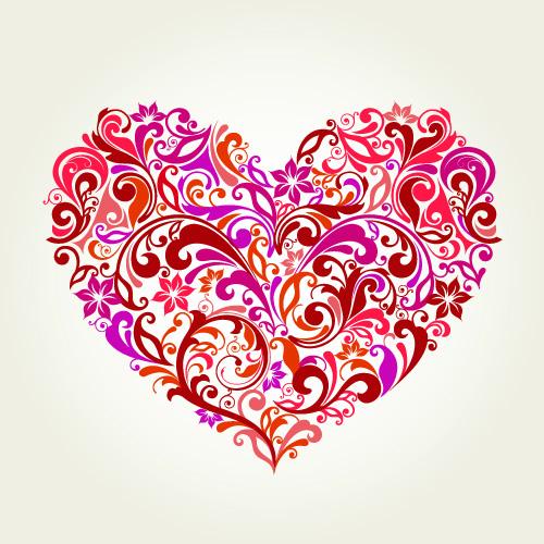 Download Handpainted love element (25637) Free EPS Download / 4 Vector