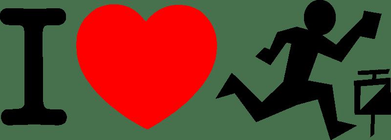 Download I love orienteering (101378) Free SVG Download / 4 Vector