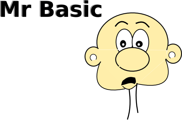 Mr Basic Clip Art Free Vector 4Vector