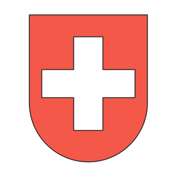 Schweizer Wappen Free Vector 4Vector