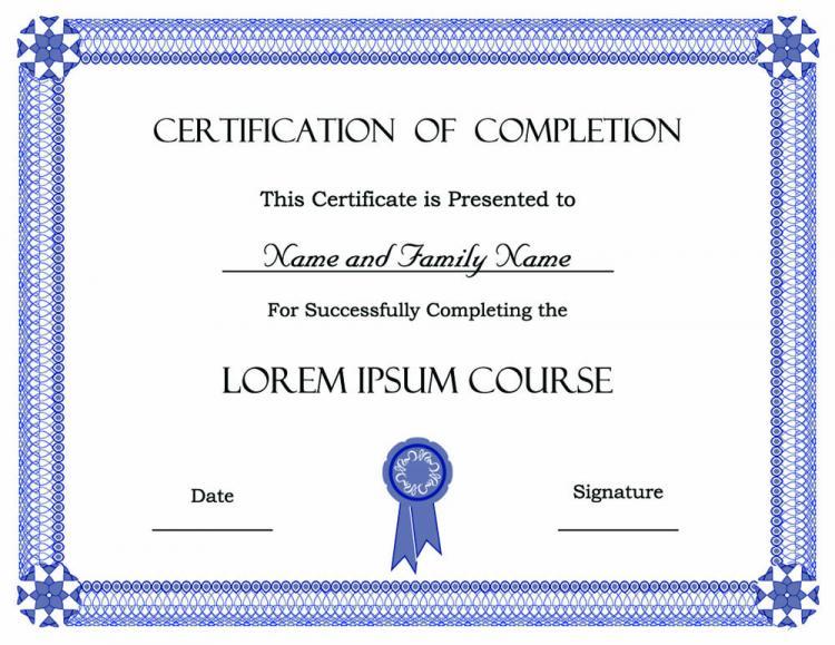 nice list certificate printable sample for