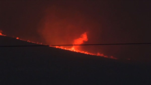 Mountain wildfire is 2nd largest ever in Colorado