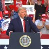 Trump slams Biden, says Harris won't be president