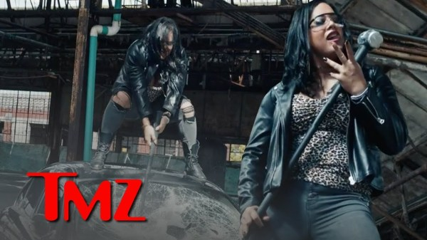 Director X & AEW's Nyla Rose Take Sledgehammer to Jaguar In Wild New Trailer! | TMZ