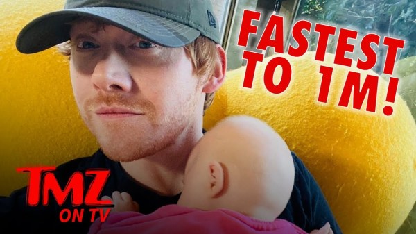 Rupert Grint Shatters Instagram Followers Record | TMZ TV