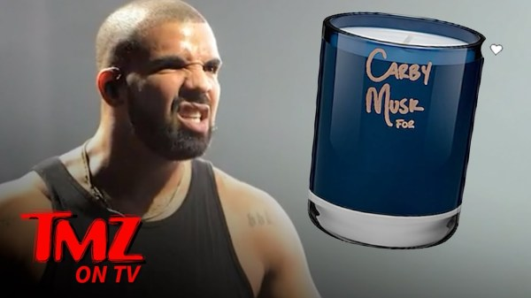 Drake Is Selling A Candle That Smells Like ... Drake!   TMZ TV