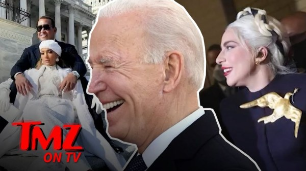 Celebs Take Over President Biden's Inauguration | TMZ TV