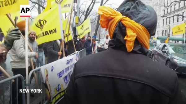 Protesters in NY rally against India farm laws