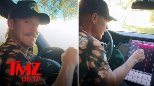 Diplo Uses His Tesla To Recreate His New Song | TMZ TV