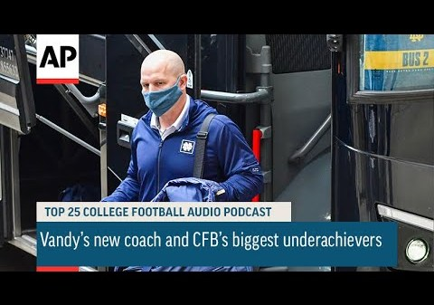 Vandy's new coach and CFB's biggest underachievers | AP Top 25 Podcast