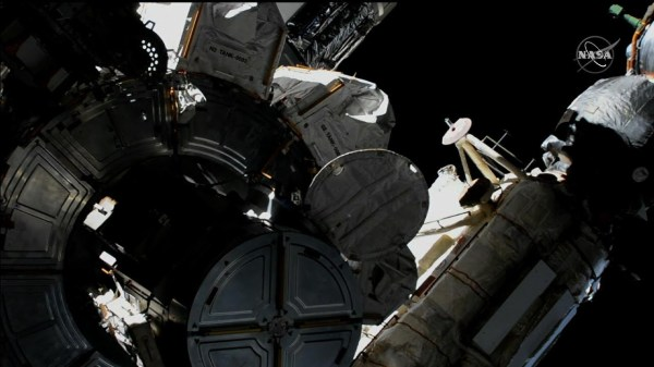 US and Japanese astronauts begin spacewalk