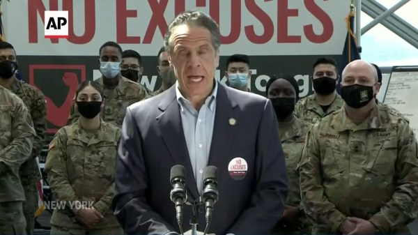 Cuomo urges NY residents 16+ to get vaccinated