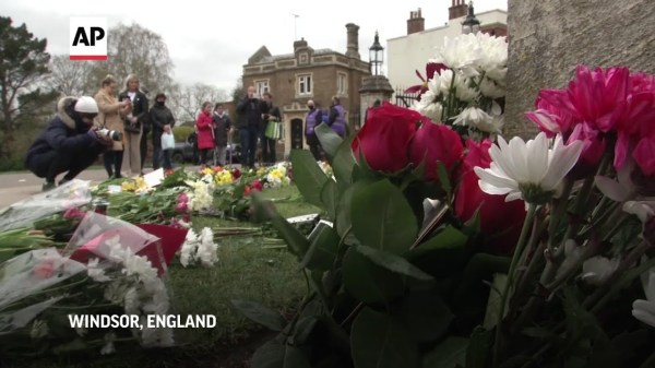 Mourners in Windsor reflect on Philip's legacy