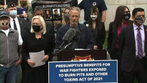 Stewart pushes bill to aid vets ill from burn pits