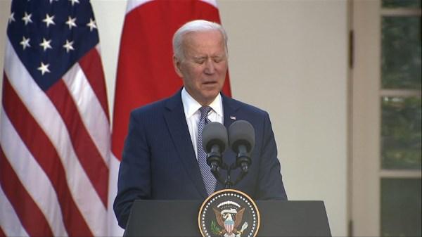 Biden: US shootings 'a national embarrassment'