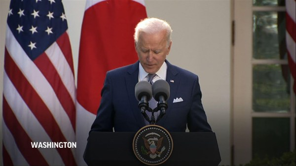 Biden talks partnership plans with Japan