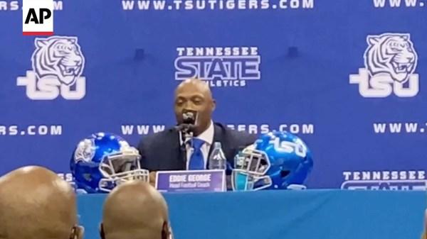 Tennessee St Coach Eddie George On Taking Job