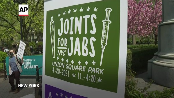 NYC celebrates 4/20 with free joints