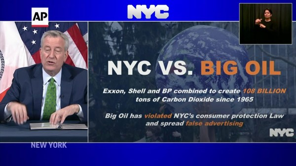 NYC sues Big Oil