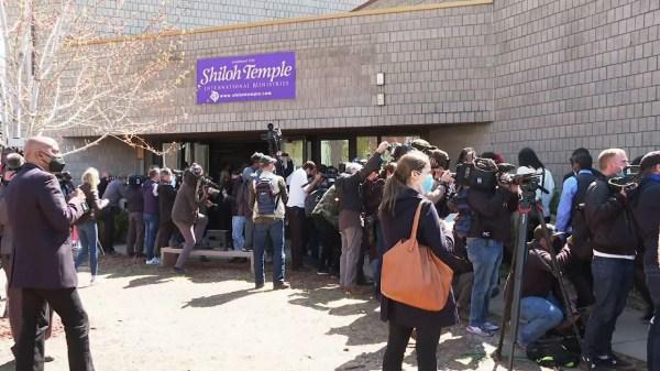 Daunte Wright's funeral held in Minneapolis