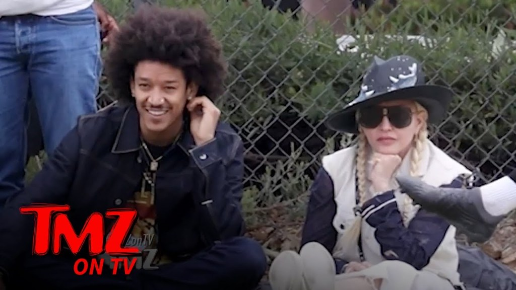 Madonna and Boyfriend Attend Her Son's Soccer Match | TMZ TV