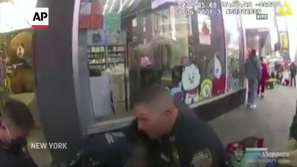 Video shows NYPD officer rushing to injured child